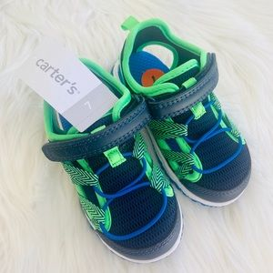 Toddler boy shoes size 7 by Carters